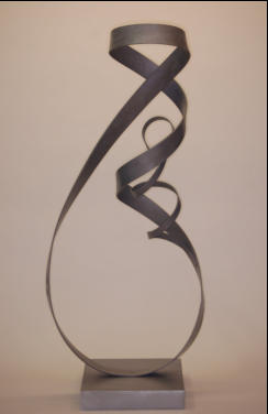Mother & Child contemporary sculpture ~ essentialiron.com ~