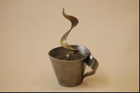 Cup of Coffee sculpture